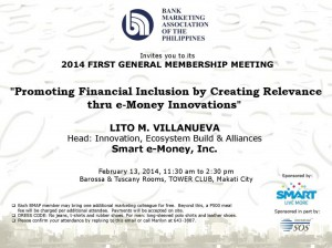 February 2014 General Membership Meeting