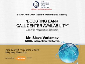 June 2014 General Membership Meeting