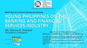 May 2014 General Membership Meeting