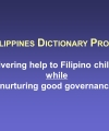 Philippine Directory Project (PDP) Overview